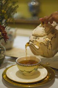 Profitez de votre thé dans une théière anglaise